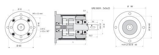 Gear box R 60 BERNIO